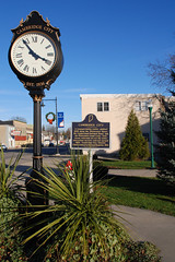 Town Clock - Cambridge City, Indiana