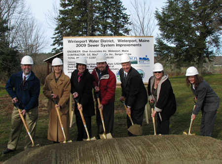 Winterport Groundbreaking photo