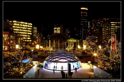 Holiday Season in Downtown Vancouver