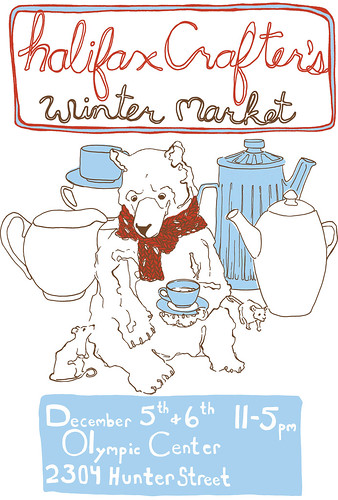 Halifax Crafters winterposter