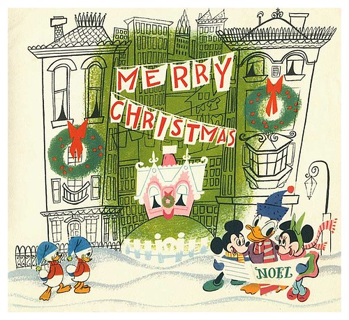 009-Tarjeta de Navidad Disney 1952-ASIFA Hollywood