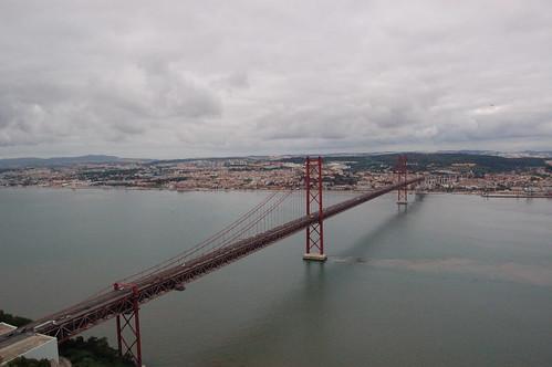 View from Monumento ao Cristo Rei