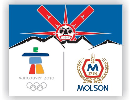 Four Host First Nations and Molson Coors Canada collector pin