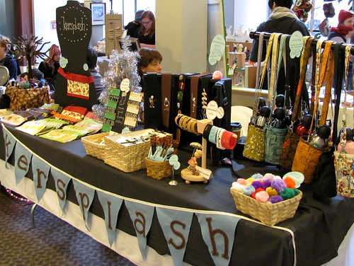 My table at The Big Crafty Holiday Fair