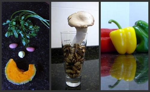 La revelion de las verduras.
