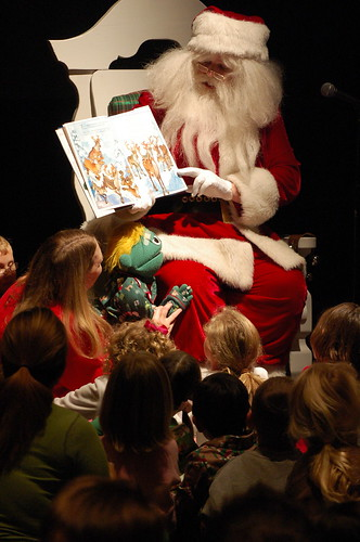 Storytime with Santa in the Enchanted Forest