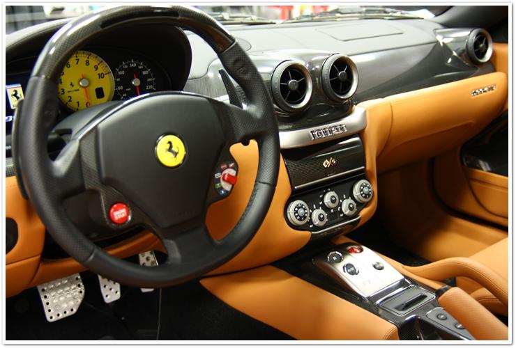 Ferrari 599 GTB interior dash