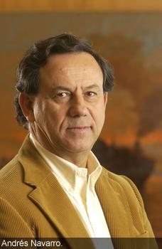 04-08-2008.El Empresario Andres Navarro , Presidente de Sonda ,Santia