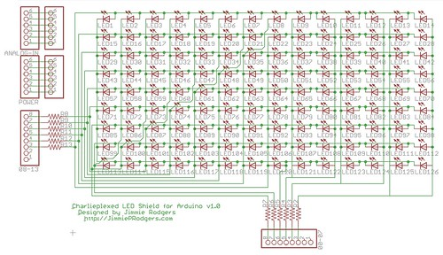 LED shield schematic