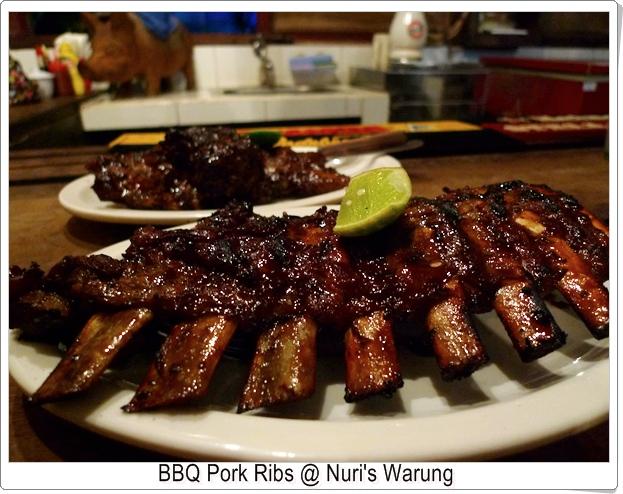 Nuri's Warung BBQ Pork Ribs