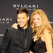 Ricky Martin, Esther Canadas at the 125th Anniversary of BVLGARI