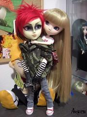 Kyo y Saori (Arwen♥) Tags: pullip hash sbhs shinku obitsu taeyang