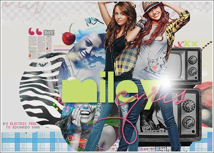 Miley Cyrus by Barbra Golba.