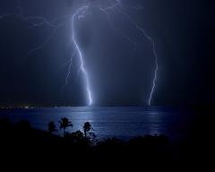 lightning over Bonaire (dtsa58) Tags: longexposure nikon lightning blitz bonaire extremeweather netherlandsantilles d60