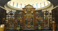 Iconostasis of the Annunciation Melkite-Greek Catholic Cathedral