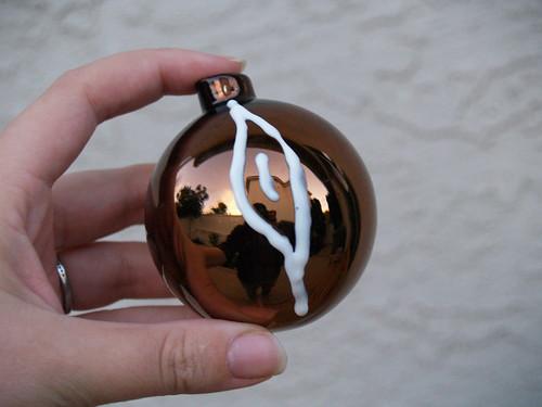 Faux Bois ornament Step 1