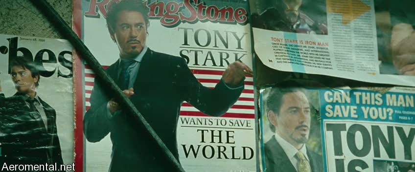 Iron Man 2 Trailer 2 newspapers