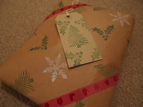 Handmade wrapping paper