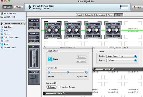 Audio Hijack Pro Setup