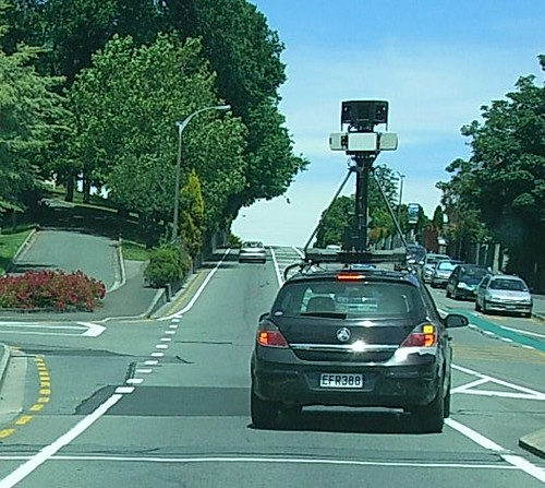 Google Streetview Car 2009