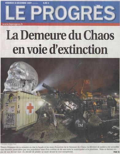 La Demeure du Chaos en voie d'extinction ?