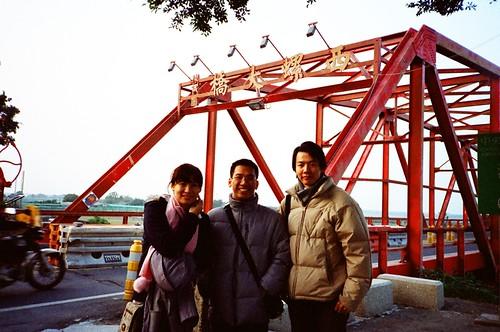 風極大的西螺大橋