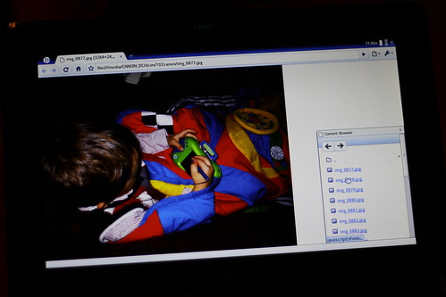 Chrome OS SD Card Contents
