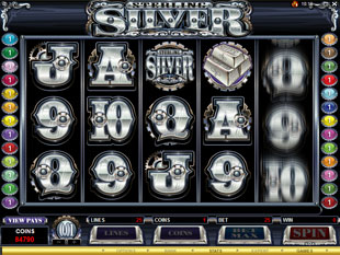 Sterling Silver slot game online review
