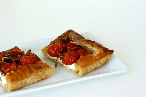 Roasted Tomato & Goat Cheese Tart