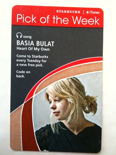 Starbucks iTunes Pick of the Week - Basia Bulat - Heart Of My Own #fb