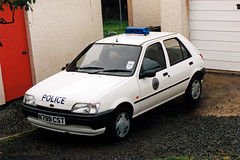 Ford Fiesta (Juhani Sierla) Tags: scotland isleofskye police dunvegan fordfiesta poliisi northernconstabulary n799cst