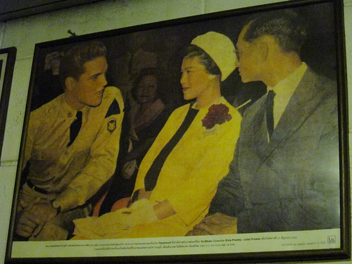 Elvis Presley and Thai King & Queen