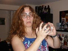 Arielle as Professor Trelawney