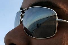 Glasses Reflection (Salah Al-Mahdi) Tags: reflection glasses towers ali kuwait 2010 salah      almahdi saloo7