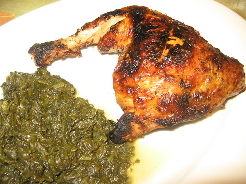 Butter broiled chicken