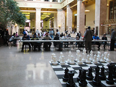 Chess Day at the library - Central hall (Enoch Pratt Free Library) Tags: city people urban playing game public kids library chess free baltimore tournament event publiclibrary centrallibrary enochprattfreelibrary 365libs visitbaltimore chessday