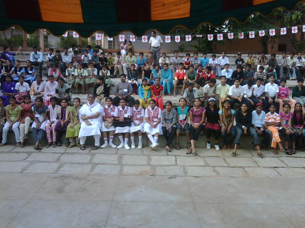 Nationwide Junior Red Cross Camp at Bangalore University