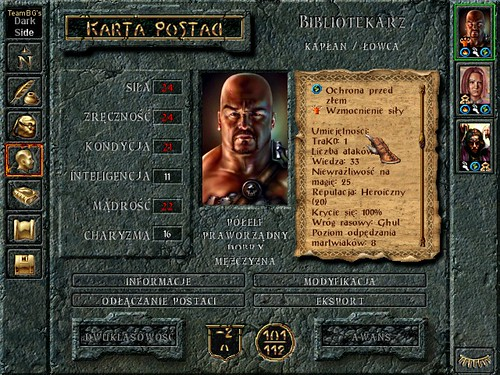 Baldurds Gate I + Dark Side of the Sword Coast mod