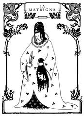 la matrigna (graficando92) Tags: black art dark death kill noir darkness artnouveau morte killer nightmare nero tenebre oscurit morti matrigna incubi