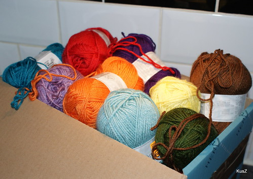 box full of yarn!
