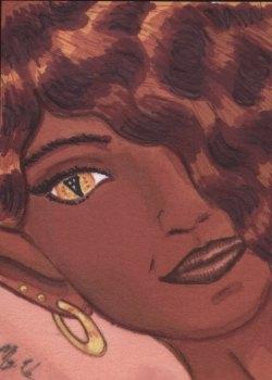 02-Cat-eyed Woman