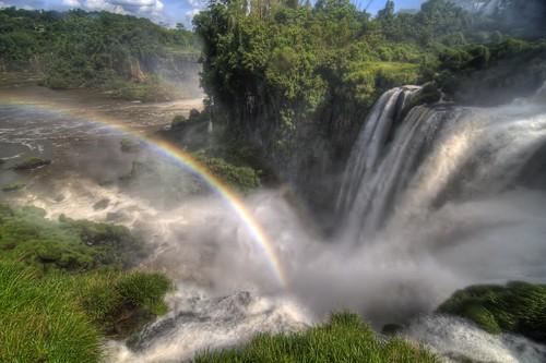 Rainbow at Salto Bossetti