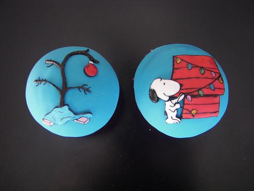Christmas TV Show Cupcakes