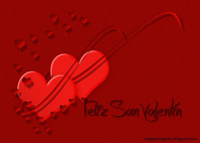 postal felicitacion dia san valentin