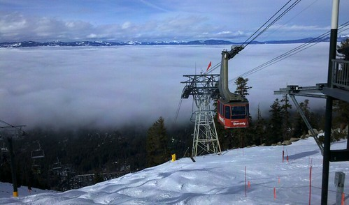 View from the Heavenly Tram down Gunbarrel