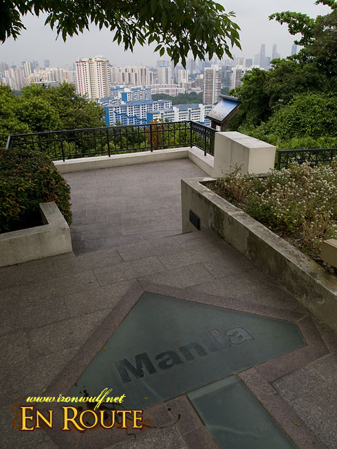 Mt Faber points to Manila