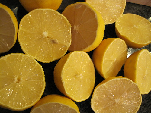 Lemons Past their prime, but good for juicing