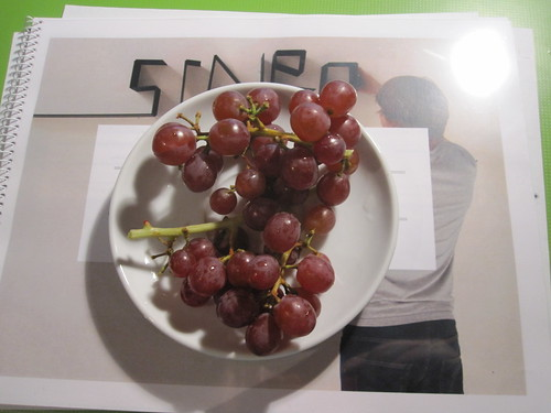 grapes from the bistro - free