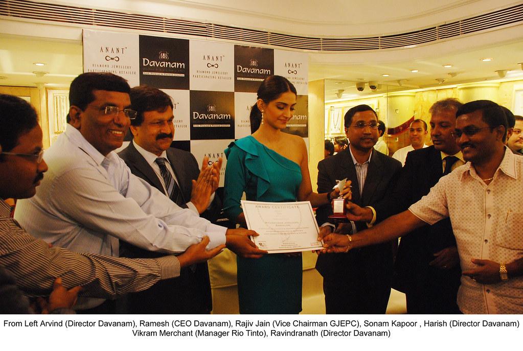 Sonam Kapoor's visit to Davanam