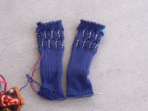 Beaded Socks